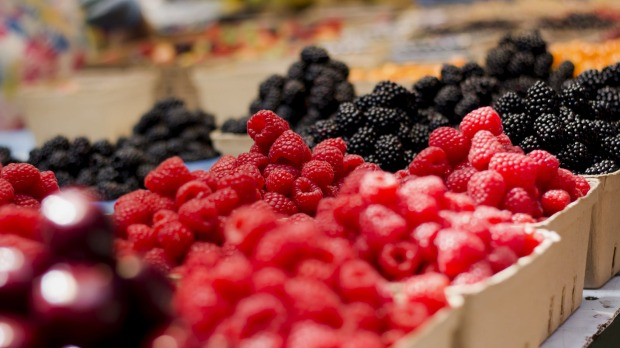 Thin-skinned fruit such as berries might be worth the extra cost for organic.