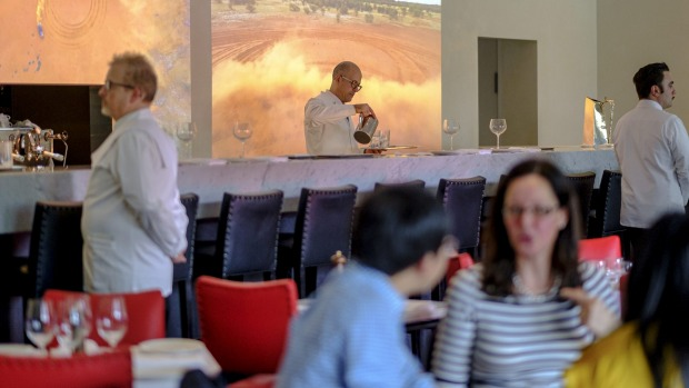 Nominated for the best new restaurant award, Di Stasio Citta in Melbourne could be next on the pair's list.