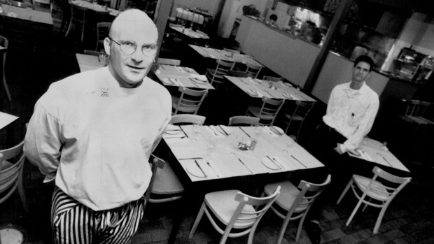 Chef Matt Moran and Peter Sullivan changing bistro traditions April 15, 1992.