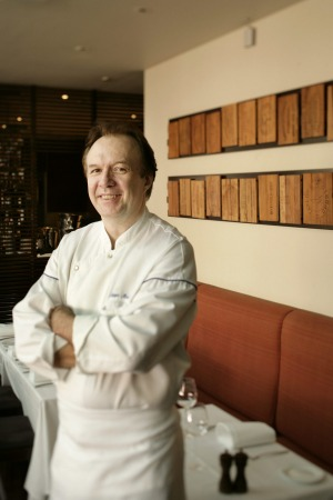 Philippe Mouchel at The Brasserie at Crown.