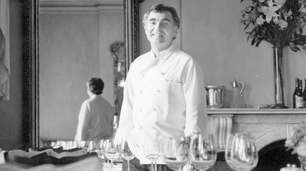 Chef Jacques Reymond in 1994.