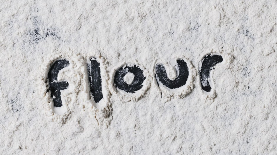 Did you know? Flour doesn't contain gluten. It's created when two proteins found in flour are mixed with water.