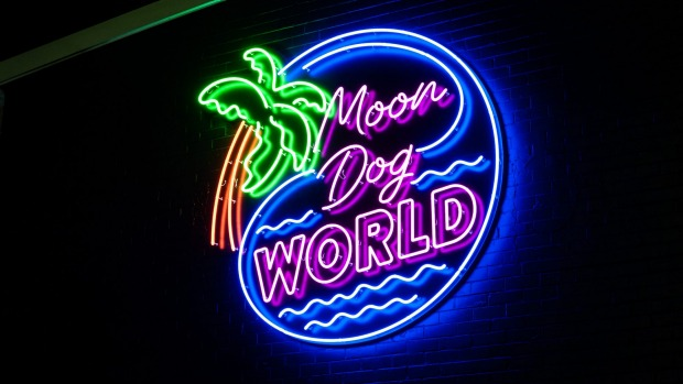 Up in lights: Moon Dog expands in Preston.