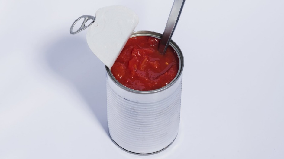 Tinned tomatoes are a pantry staple for Italian-style sugos, ragus or whizzed for pizza bases.