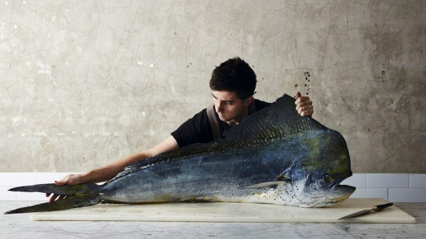 Josh Niland, of Sydney restaurant Saint Peter, has changed the way we cook, eat and think about fish.  Photo: Rob Palmer GOOD FOOD