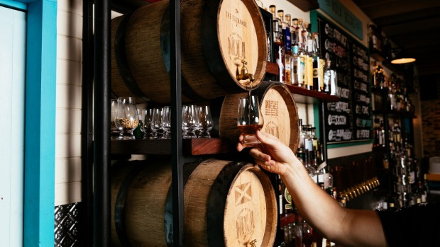Adelaide's NOLA offers more than 200 whiskeys and New Orleans-style cocktails.