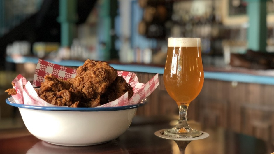 The fried chicken served at NOLA has fast become Adelaide's favourite.