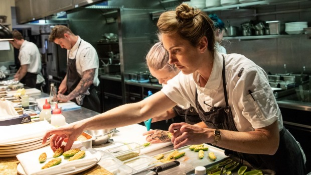 Alanna Sapwell, head chef of Brisbane's Arc Dining, which was a New Restaurant of the Year nominee.
