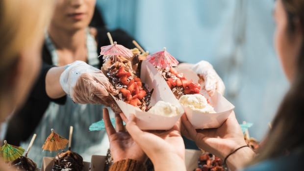 The Good Food Month Night Noodle Markets 2019.