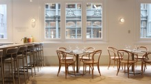 Hazel, the new restaurant from the Mulberry Group, will seat 150.