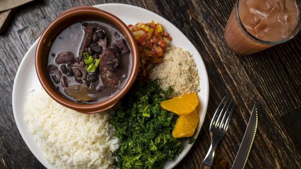 Feijoada (bean and pork stew).
