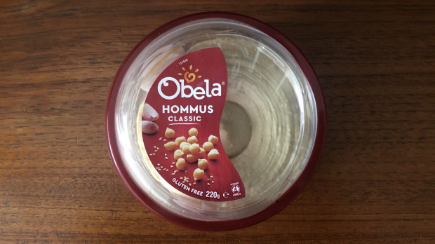 Good Food Dip Taste Test. Obela Hummus, 220g.