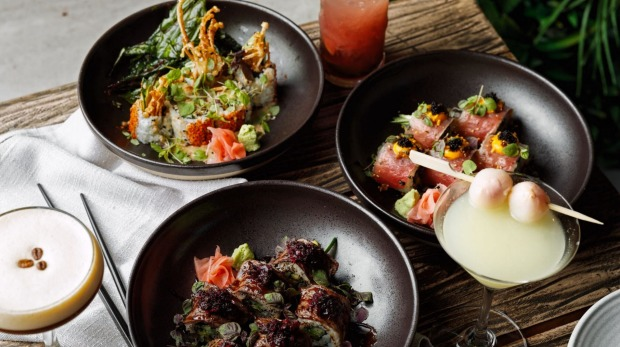 Bondi's Upper East Side has changed their menu to 'Nikkei fusion', with a heavy influence on raw, vegan and gluten-free ...