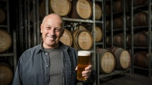Brewer Phil Sexton at Giant Steps in Healesville which will become Matilda Bay brewery bar.