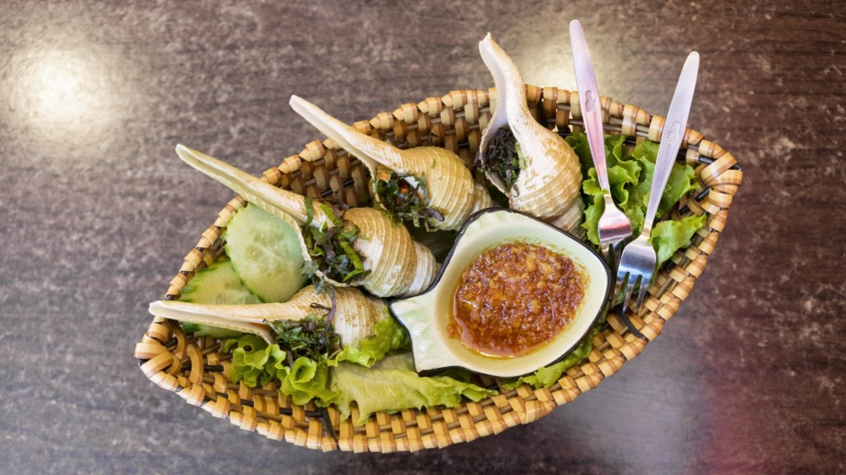Nang is a new boozy Vietnamese canteen specialising in oc (snails).