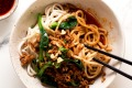 Slurp to it: Sichuan dan dan noodles.