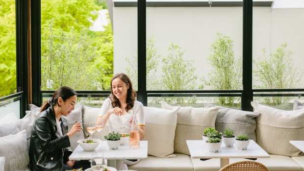 Interior architect Han Lim has given Daily Greens in Paddington a bright and airy feel.
