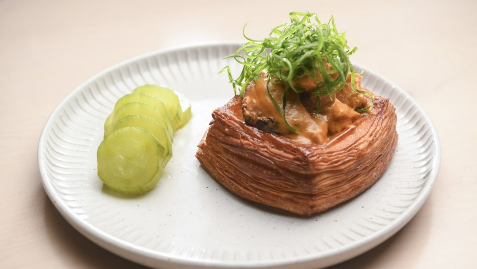 Lune croissant loaded with butter chicken will lure you in.