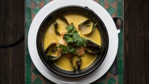 The eponymous claypots cover a world of styles such as Singapore stew mussels in coriander and ginger sauce.