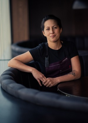 Monique Fiso, chef at Hiakai, Wellington NZ.