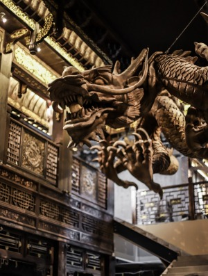 Dracula's replacement features a 1.5 tonne floating dragon.