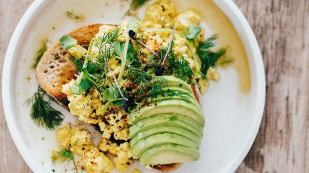 Tofu scramble from The Global Vegan: More Than 100 Plant-Based Recipes from Around the World by Ellie Bullen. Edited extract for Good Food, October 29, 2019. Pic credit Ellie Bullen