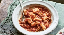 Made from scratch: Selvina's gnocchi con salsicce.