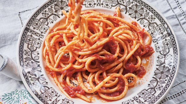Extract: Pasta Grannies, November 2019 - corzetti, pici, gnocchi This is an edited extract from Pasta Grannies by Vicky Bennison published by Hardie Grant Books $39.99 and is available in stores nationally. Photographer: © Emma Lee Single use only