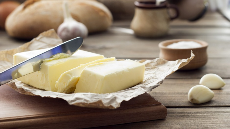 Salt content varies greatly in commercial butter.