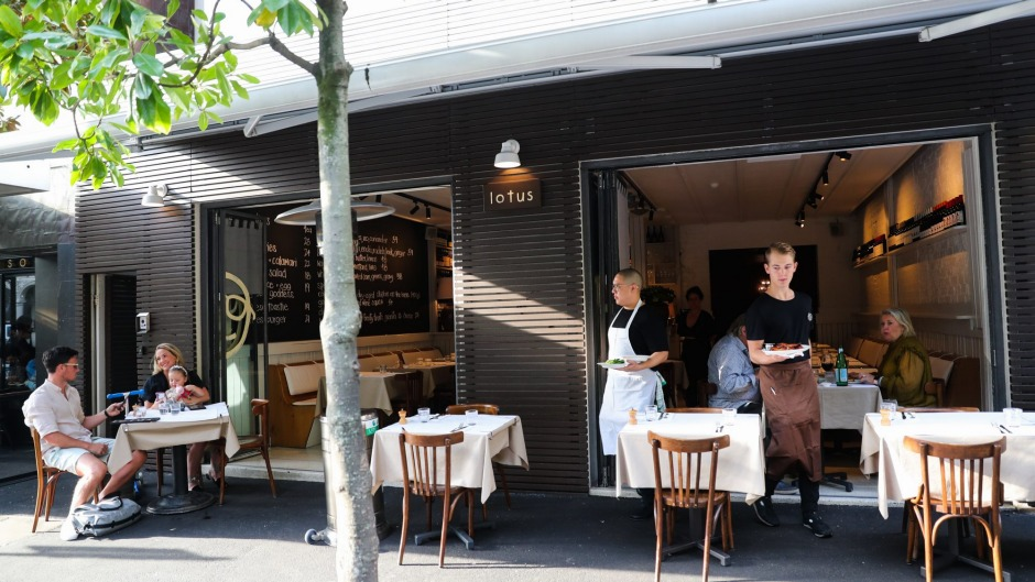 The pop-up in Potts Point.