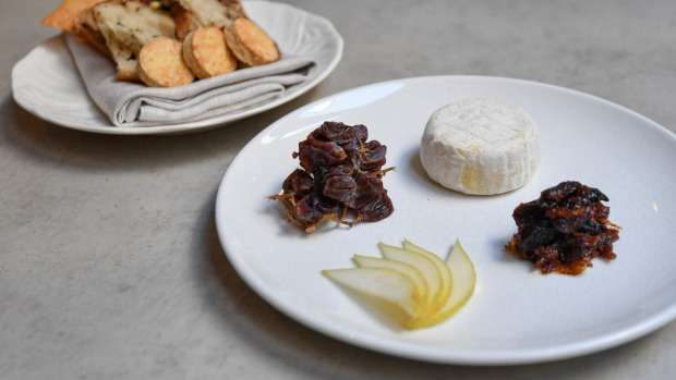 Go-to dish: Brianna Smith's house-made brie, with condiments.