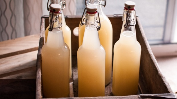 Acre Eatery's spring workshops teach you how to make homemade ginger beer.