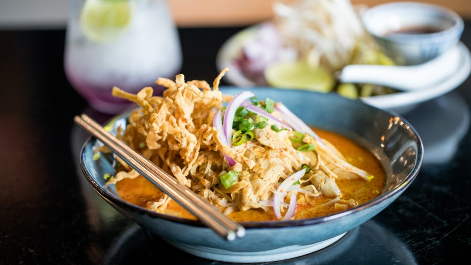 Eatdustry Thai's khao soi (coconut curry noodles).