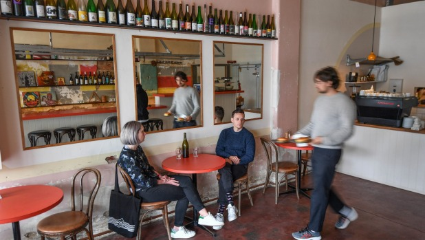 Cafe by day, wine bar by (some) nights: Romans Original in Footscray.