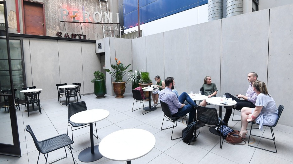 Rediscover Marameo's rooftop terrace, Melbourne.