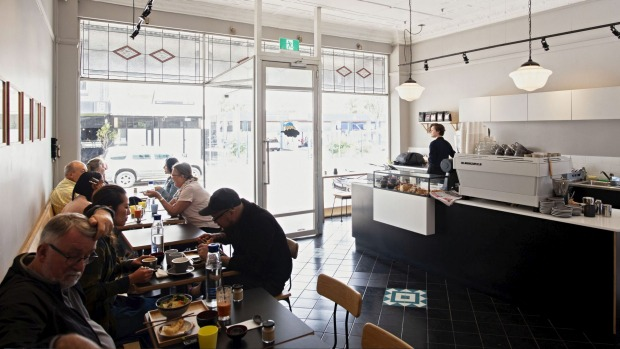 Kurumac cafe in Marrickville before social distancing rules were announced.