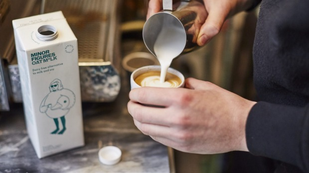 Minor Figures' oat milk has been designed for baristas as an alternative to cow's milk.