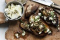 Adam Liaw's feta and grilled onion bruschetta.
