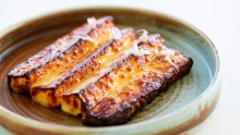 Go to dish: Tilba haloumi with honey and rosemary blossom.
