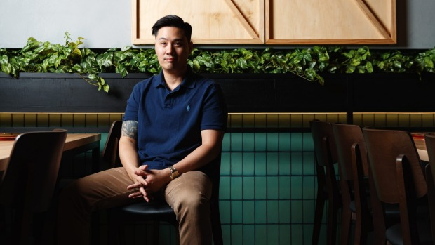 Jon Choi, co-owner of Gyusha wagyu restaurant and retail store, Chippendale.