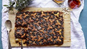 If you like mince pies, you'll love this share-friendly spiced slice.