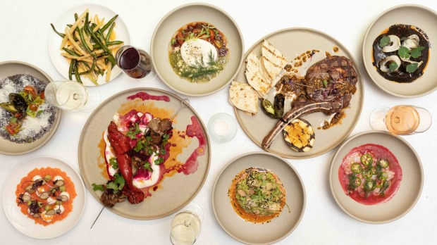 The menu puts a modern spin on Mexican cooking.