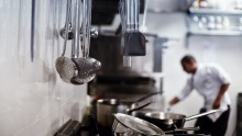 Hot topic: the hospitality industry accounts for around 7 per cent of Australia's workforce.