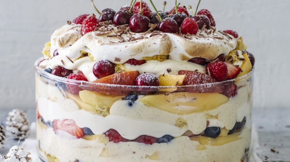 Christmas trifle.