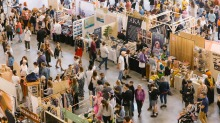 The Sydney edition of the  Finders Keepers market.