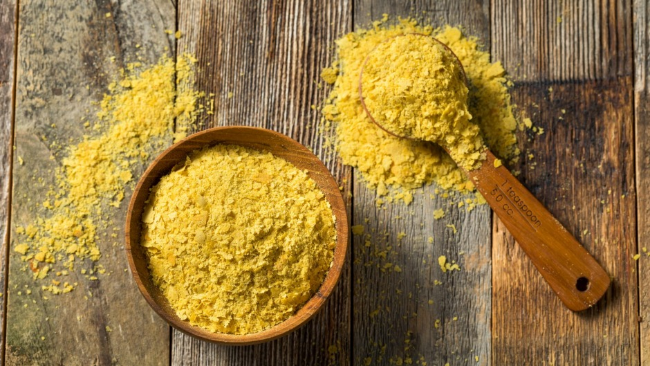 What now? Nutritional yeast has a salty and slightly cheesy taste.