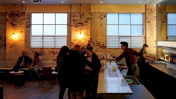 The former warehouse now holds a prohibition-era style bar for trying the gins.