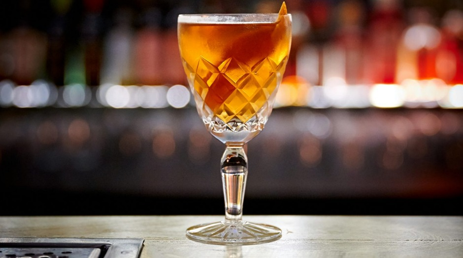 The Mr Bankes cocktail at Patient Wolf's slick new distillery bar.