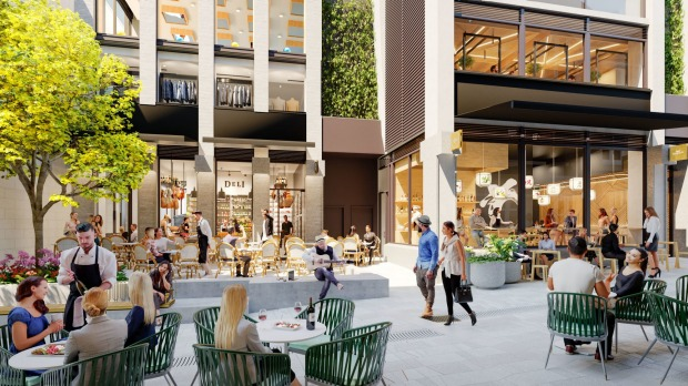 Quay Quarter Lanes is part of the massive redevelopment of an entire city block on Young and Loftus streets.