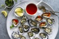 In Australia, we can eat oysters all year round.